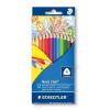 STAEDTLER Színes ceruza készlet, háromszögletű, STAEDTLER Noris Club, 12 különböző szín (TS1270C12)