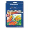 """STAEDTLER Színes ceruza készlet, hatszögletű, STAEDTLER """"Noris Club"""", 36 különböző szín"""