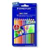 STAEDTLER Színes ceruza készlet, hatszögletű, vastag, STAEDTLER Noris Club, 10 különböző szín (TS129NC10)
