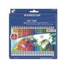 STAEDTLER Színes ceruza készlet radírral, hatszögletű, STAE