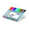 STAEDTLER Tűfilc készlet, 0,3 mm, STAEDTLER Triplus STAEDTLER Box, 20 különböző szín (TS334SB20)