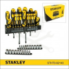 Stanley Csavarhúzó készlet - 57 részes - fali tartóval Stanley (STHT0-62143)