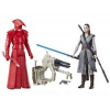 Star Wars E8 Két deluxe figura Force Link - REY
