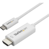 StarTech com 2M USB C TO HDMI CABLE - WHITE .