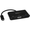 StarTech com USB-C TO VGA ADAPTER WITH PD PD & USB PORT - USB-C ADAPTER