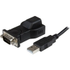 StarTech com USB TO RS232 SERIAL ADAPTER CONVERTER W/ REMOVABLE USB CABLE