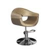 Stella szatén barna hidraulikus fodrász szék SX-2107/A