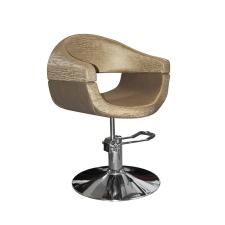 Stella szatén barna hidraulikus fodrász szék SX-2107/A bútor