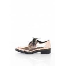 Steve Madden , Little Lace Up Derby Cipő, bronzszín, 40 (91000714-RoseGold-40)