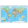 Stiefel A Föld országai zászlókkal, XXL óriás világtérkép poszter