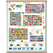 Stiefel A világ zászlói térkép