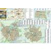 Stiefel Balmazújváros-Hajdúszoboszló-Nagyhegyes keretezett térkép