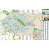Stiefel Budapest XVI. Kerület térkép, fémléces