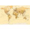 Stiefel Eurocart Kft. A Föld országai (Stiefel) antik, tűzhető, keretes falitérkép