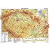 Stiefel Eurocart Kft. Csehország domborzati térképe, tűzhető, keretes