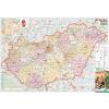 Stiefel Eurocart Kft. Magyarország országgyűlési választókerületei, mágnesezhető, fémkerettel