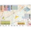 Stiefel Eurocart Kft. Magyarország pálinkatérképe (többnyelvű,keretezett,tűzhető)