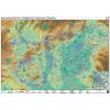 Stiefel Eurocart Kft. Magyarország természetvédelmi térképe tűzhető, keretes