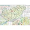Stiefel Eurocart Kft. Magyarország wellness térképe, tűzhető, keretes