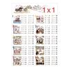 Stiefel Eurocart Kft. Szorzótábla (x-szel) DUO   ajándék 10 db tanulói munkalap