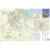 Stiefel Eurocart Kft. Varazsd város (Horvátország) térképe, tűzhető, keretes