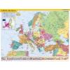 """Stiefel Könyökalátét, kétoldalas, STIEFEL, """"Európa országai/Európa gyerektérkép"""""""