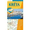 Stiefel Kréta hajtogatott autótérkép
