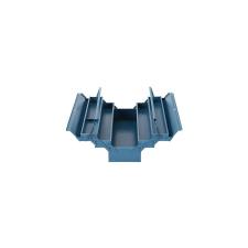 STR fém szerszámosláda 530x200x210mm 5 rekesz kézitáska és bőrönd