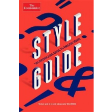 Style Guide – The Economist idegen nyelvű könyv