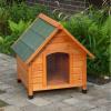 Sunnypet (USD) Spike Comfort kutyaház, műanyag ajtóval - méret M: H 88 x Sz 78 x M 81cm