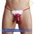 Svenjoyment Karácsonyi tanga férfiaknak - piros/fehér - S-L méret