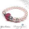 Swarovski gyöngy karkötő - Rosaline - Rose