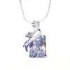 Swarovski kristályos nyaklánc hatalmas kővel