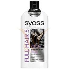 Syoss Full Hair 5D Dúsító kondicionáló 500 ml hajbalzsam