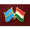 Székely-Magyar zászló jelvény 2,5x1,5 cm