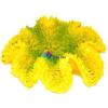 Szer-Ber Sárga korall akvárium dekoráció
