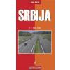 Szerbia autótérkép - Intersistem