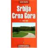 Szerbia és Montenegró autótérkép - Intersistem