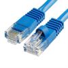 Szerelt patch kábel UTP Cat6 0,5 m PVC KÉK