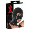 szexvital.hu LATEX - fejmaszk (fekete)