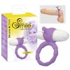 szexvital.hu SMILE Loop - vibrációs péniszgyűrű (lila)