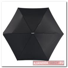 Szuper lapos mini esernyő, fekete