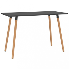 Szürke fém étkezőasztal 120 x 60 x 75 cm bútor