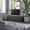 Szürke forgácslap TV-szekrény 120 x 34 x 30 cm