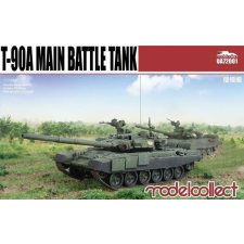 T-90A Main Battle Tank (welded turret) makett UA72001 rc autó