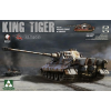 Takom WWII German Heavy Tank Sd.Kfz.182 King Tiger Henschel Turret tank makett 2047