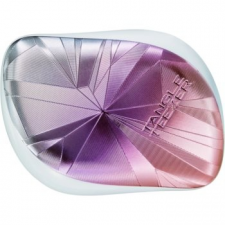 Tangle Teezer Compact Styler Smashed Holo hajkefe 1 db nőknek Blue fésű