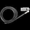 Targus Biztonsági zár ASP66GLX-S, DEFCON Trapezoid Serialised Combination Cable Lock