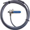 Targus Biztonsági zár PA410E, DEFCON® T-Lock Resettable Combination Cable Lock