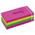 TARTAN Öntapadó jegyzettömb, 38x51 mm, 100 lap, 12 tömb/cs, TARTAN, vegyes neon színek
